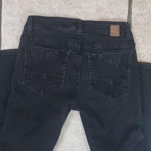 BKE Denim Peyton Skinny Black Jeans size 26 R